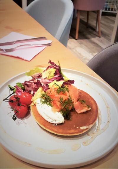 Photo Pancakes salés