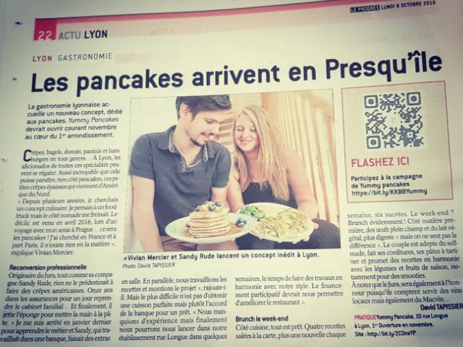 Yummy Pancakes article le progrès
