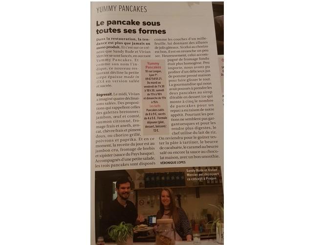 Article La Tribune Yummy Pancakes